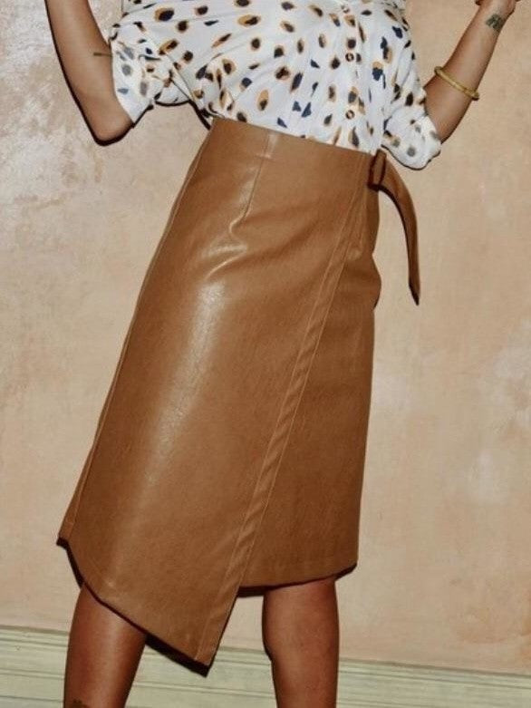 Never fully dressed Cora leather skirt