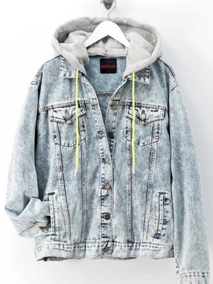 Kyle Neon String Denim Jacket