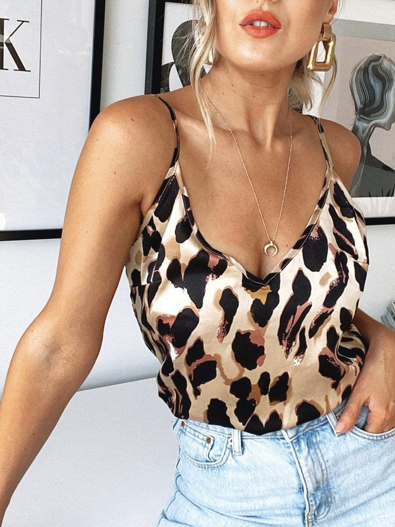 Never Fully dressed Classic Leopard cami
