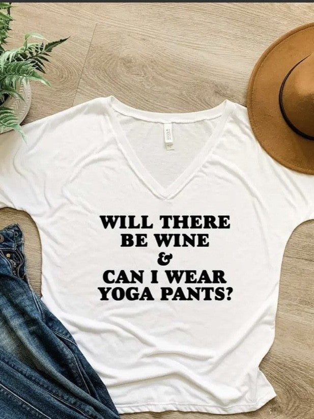 Will there be wine tee?