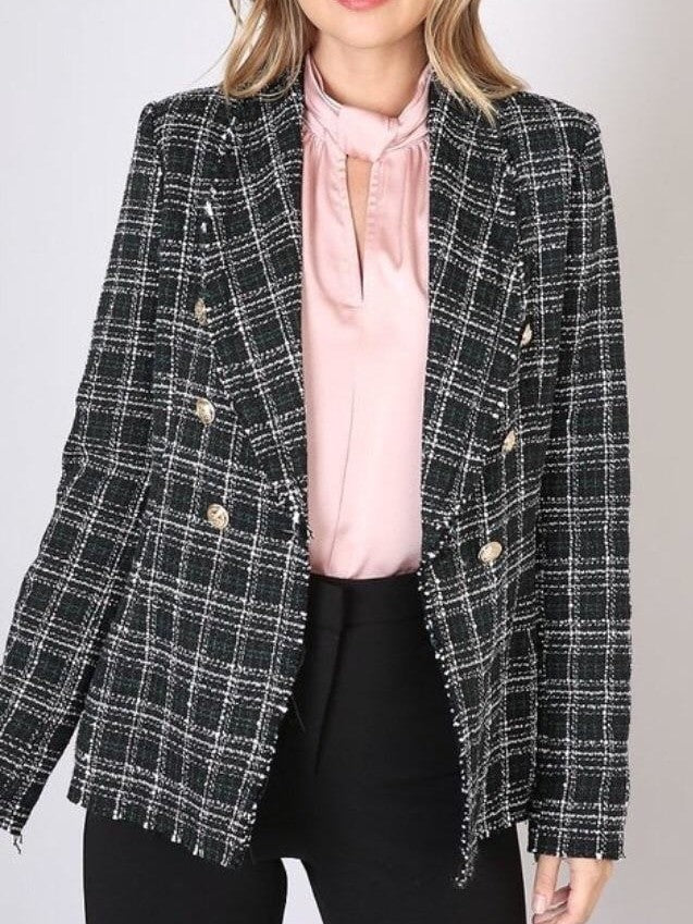 Do+Be tweed blazer