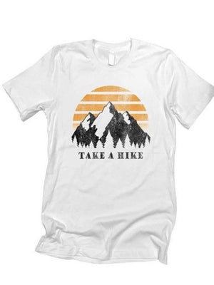 Take A Hike Graphic tee