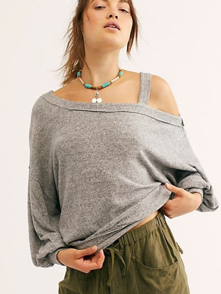 Free people flaunt it tee
