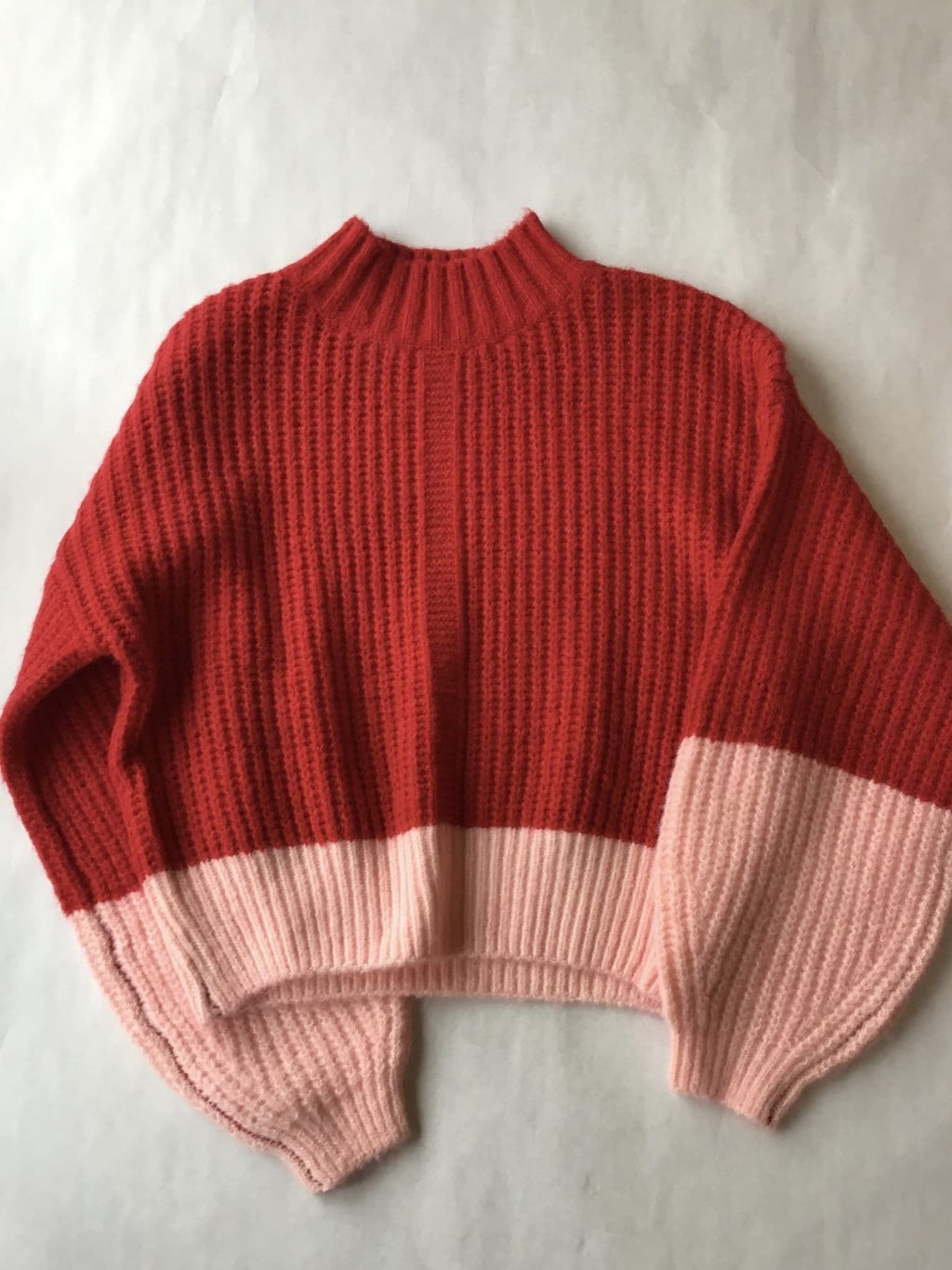 Lumiere Color block sweater