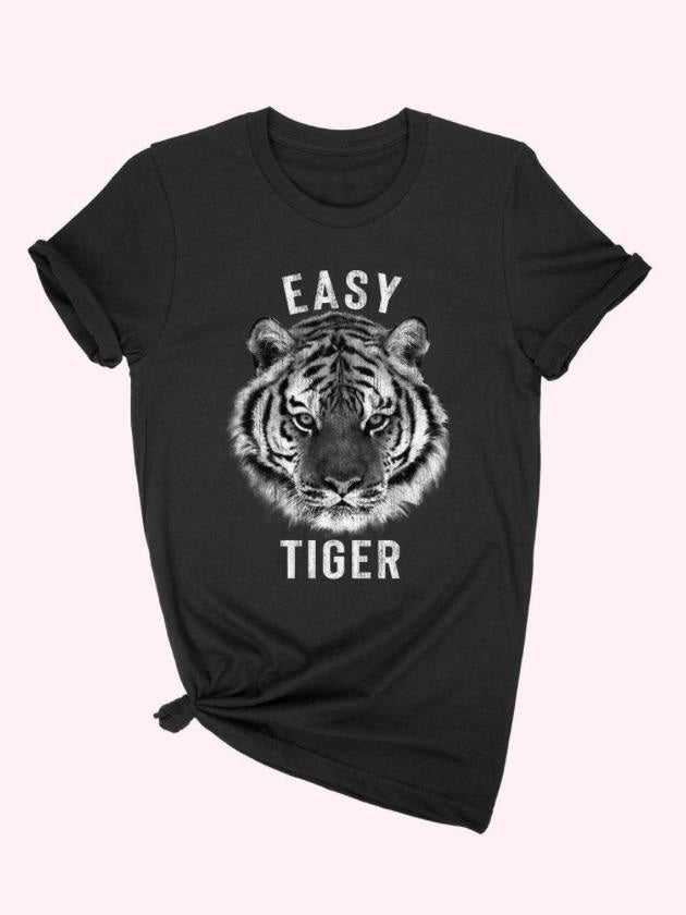 Easy tiger Graphic tee black