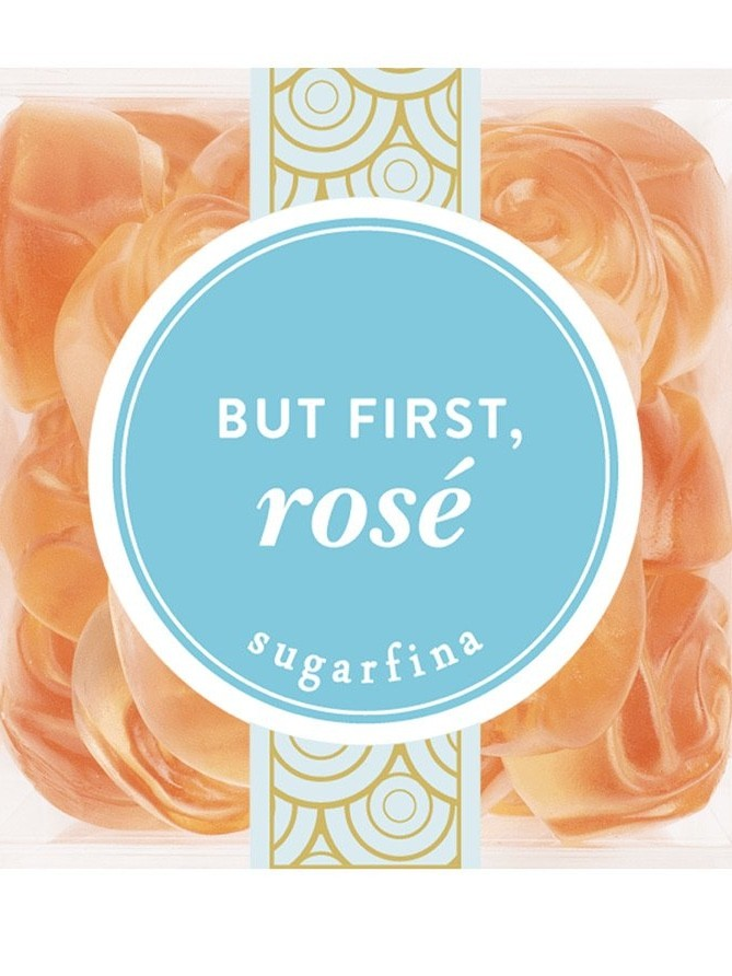 But first Rosé, roses