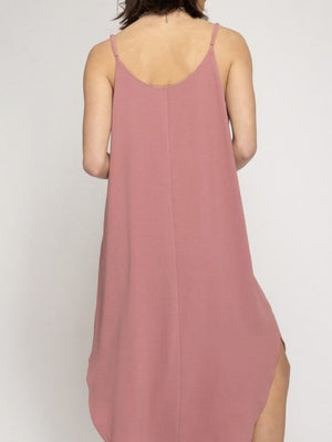 The Laura dress in rose