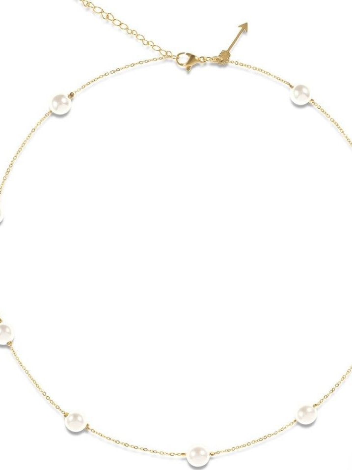 Yvette pearl necklace