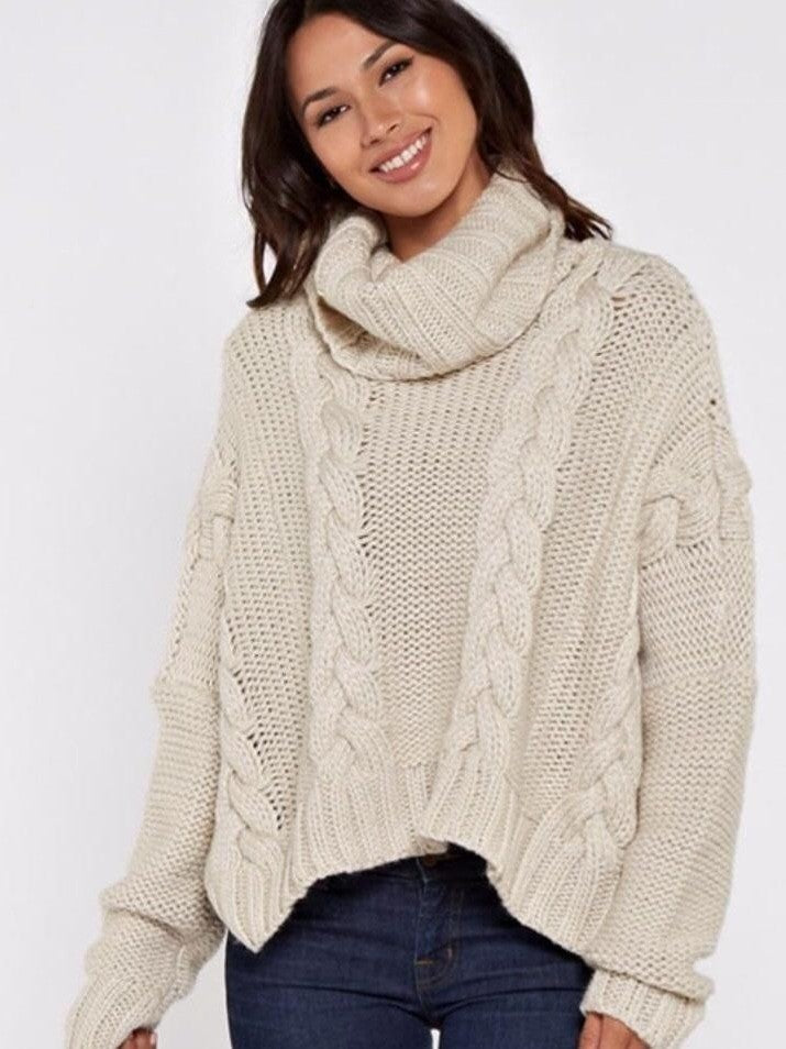 Lovestitch turtleneck knit