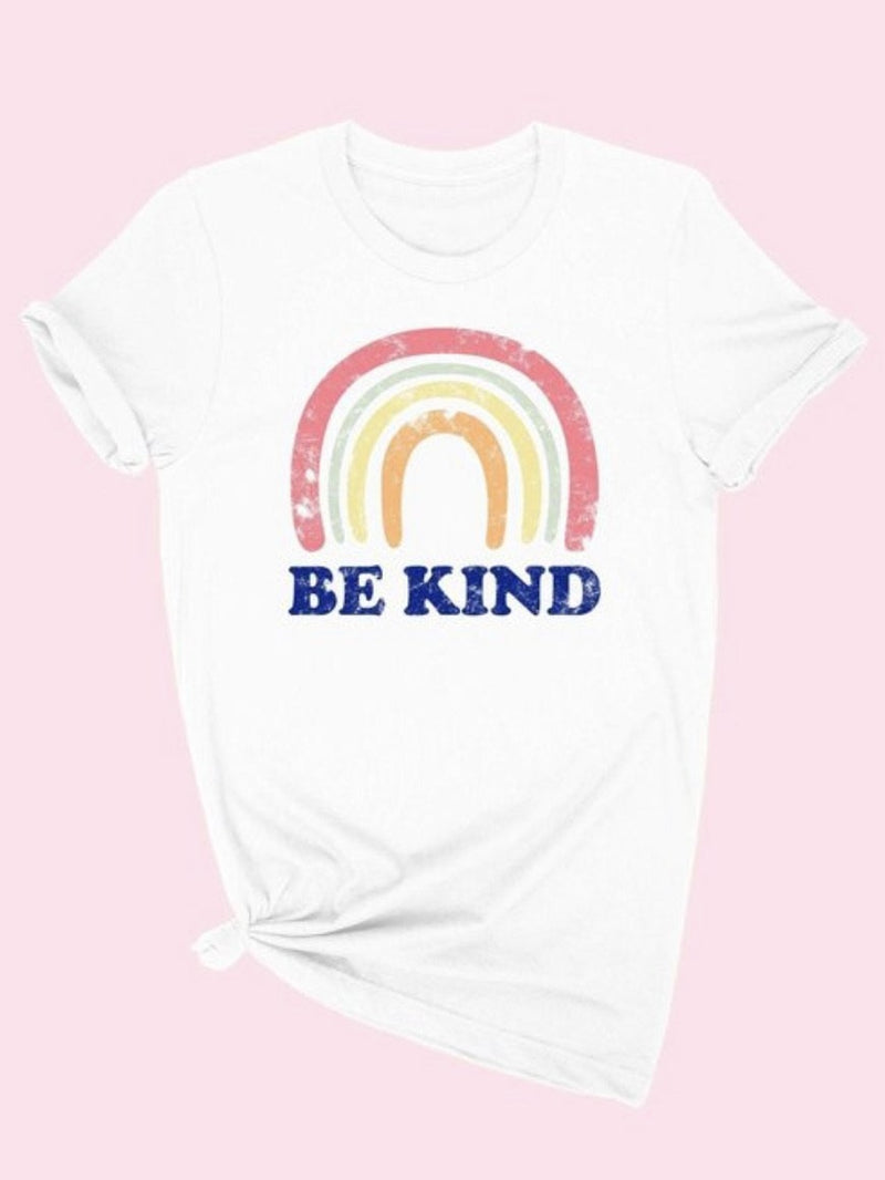 Be kind Rainbow Graphic tee