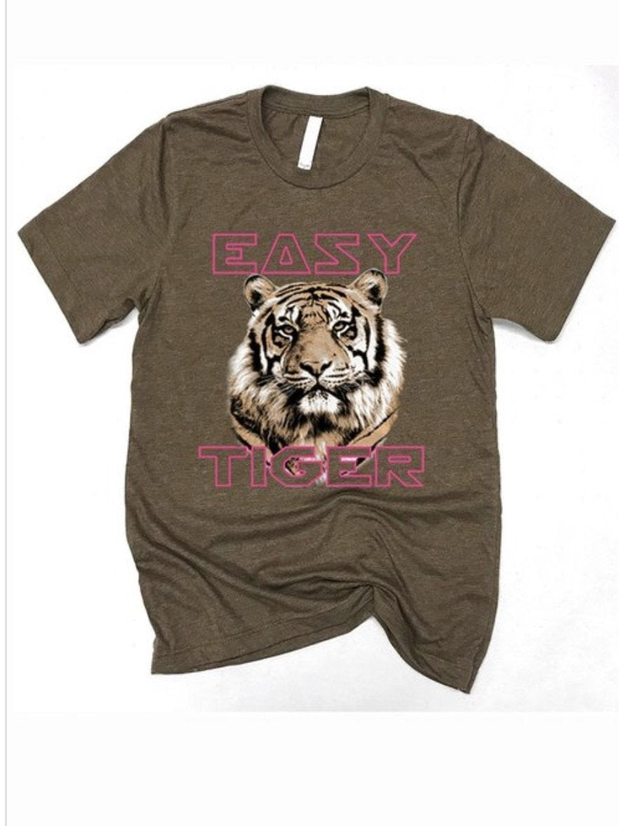 New addition Easy Tiger graphic  tee