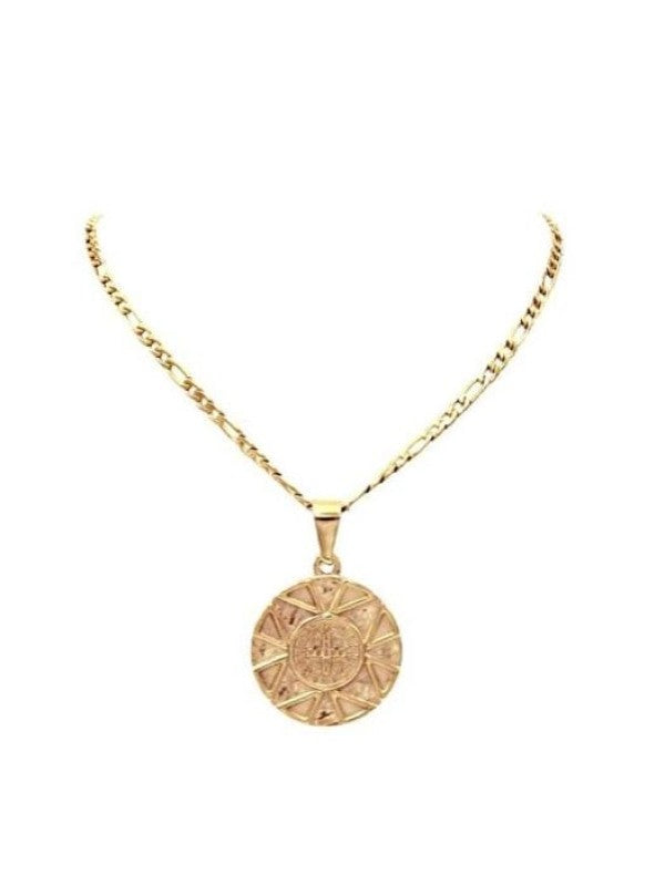 Ellie Vail-Saint Coin Necklace
