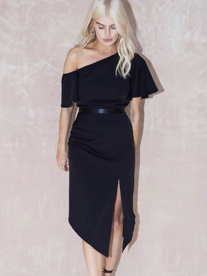 Never fully dressed Selma black dress