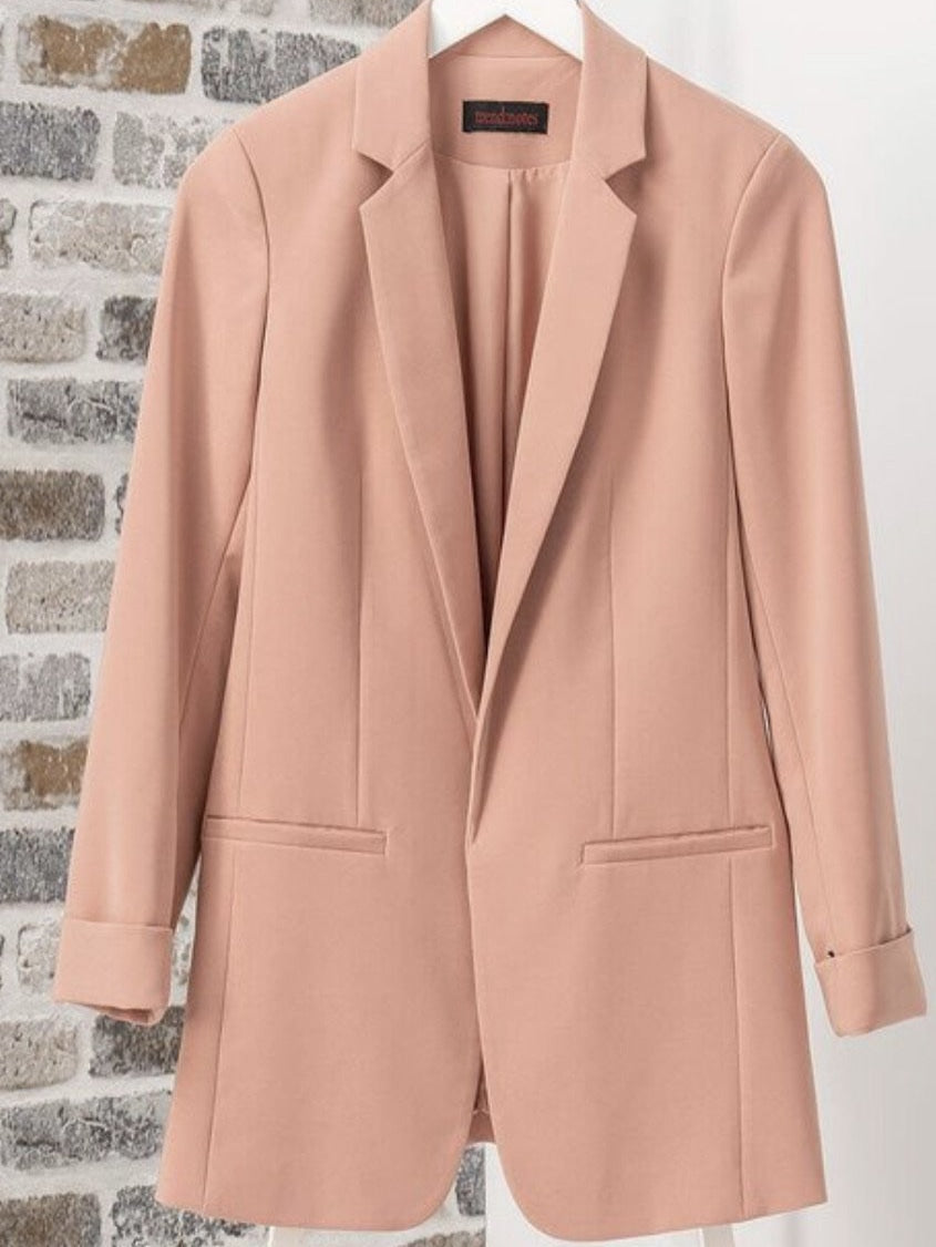 Bailey blazer in Woodland Rose