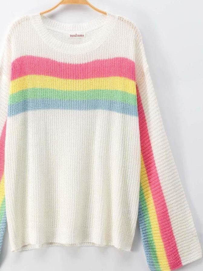 Over The Rainbow summer knit