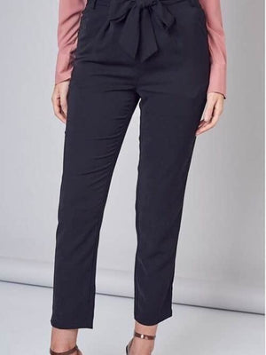 Do+Be black tie pants