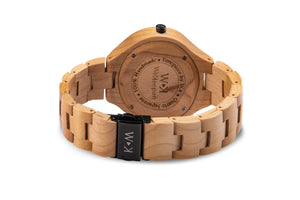 Orologio in Legno -Fair Mont- WeKeepon-Wood-Cinturino in Legno-Wood Watches - Woman -