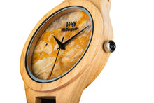 Yellow Forest - WeKeepon-Orologio in Legno-Orologio in Marmo-Marble-Wood-Vera Pelle-Genuine Leather