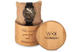BeDifferent-WeKeepon-Orologio in Marmo - Orologio in Legno - Marble Watch - Wood Watch-Orologio