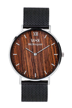 Beijing-WeKeepon-Quadrante in Legno - Orologio in Acciaio - Steel Watches - Wood Watch