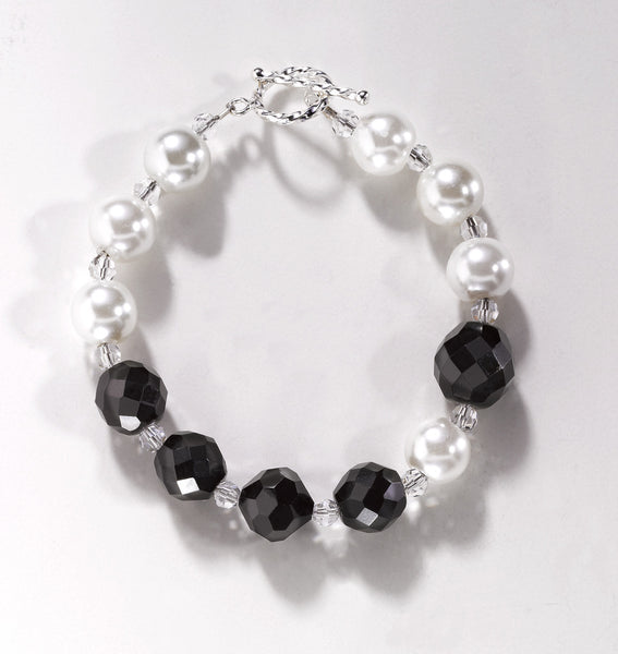 Black & White Couture Bracelet