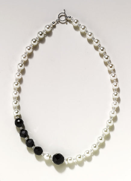 Black & White Couture Necklace
