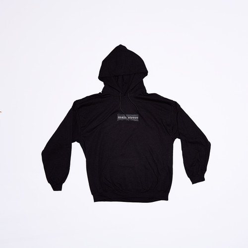 Main Street - Box Logo Black