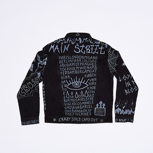 Main Street - Denim Jacket Graffiti
