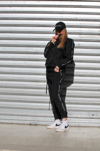 FAMILY FIRST - Sweatshirt Tracksuit Black