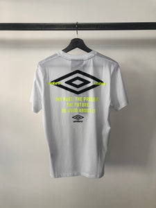 UMBRO - Tshirt White Past, Present, Future