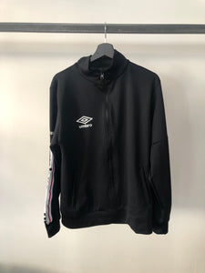 UMBRO - Felpa Zip Triacetato Black