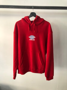 USUAL - Hoodie Red Worldwide