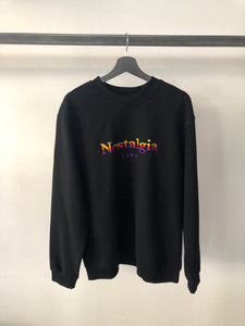 USUAL - Sweater Black Nostalgia 1994