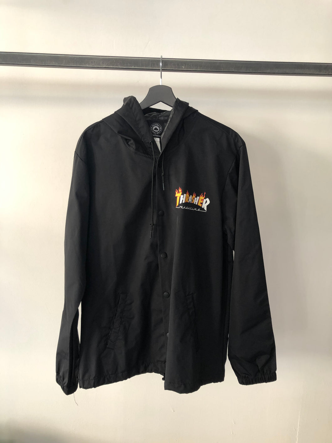 Thrasher Magazine - Jacket Black Logo