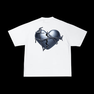 Main Street - Tee Heart White