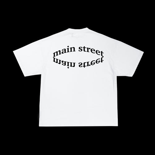 Main Street - Tee Optical White