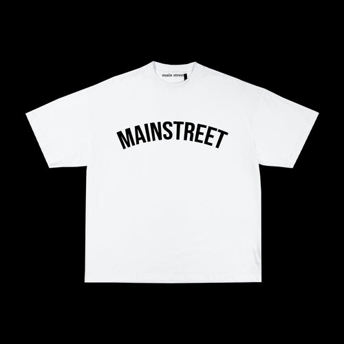 Main Street - Tee College White