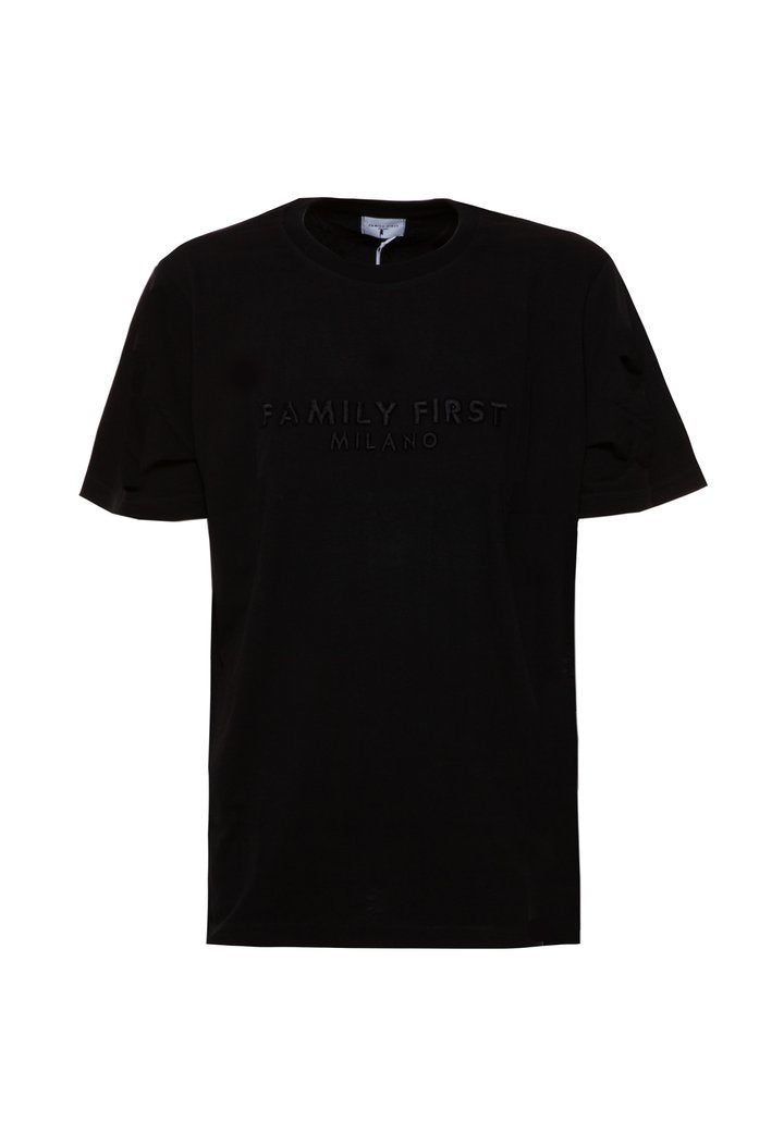 Family First - Tee logo black