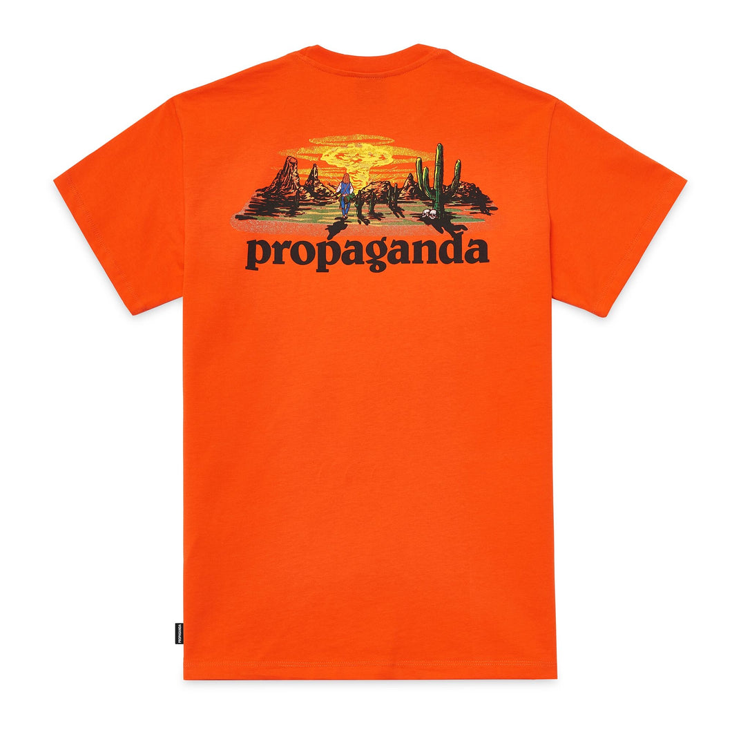 Propaganda - Supertramp Tee Orange