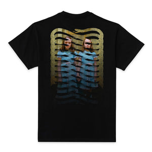 Propaganda - Twins Ribs Tee Black