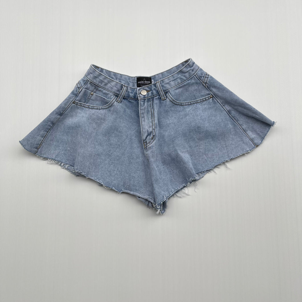 Main Street - Shorts Denim Light Farfalla