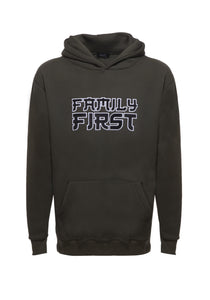 Family First - Hoodie Fur Green
