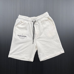 Main Street - Shorts Tuta White
