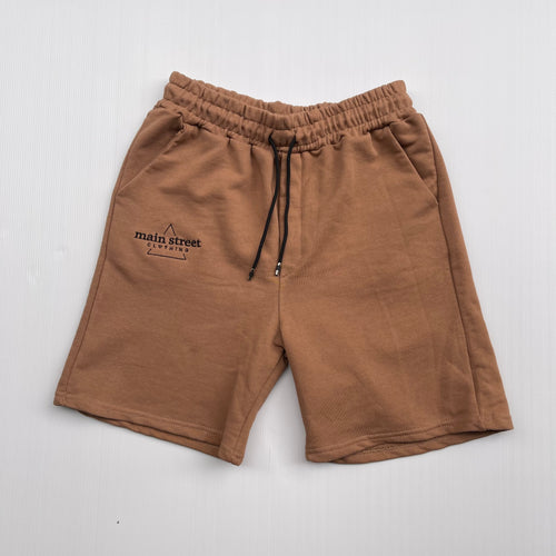 Main Street - Shorts Tuta Brown