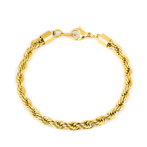 Darkai - Bracciale Rope Giallo 5mm