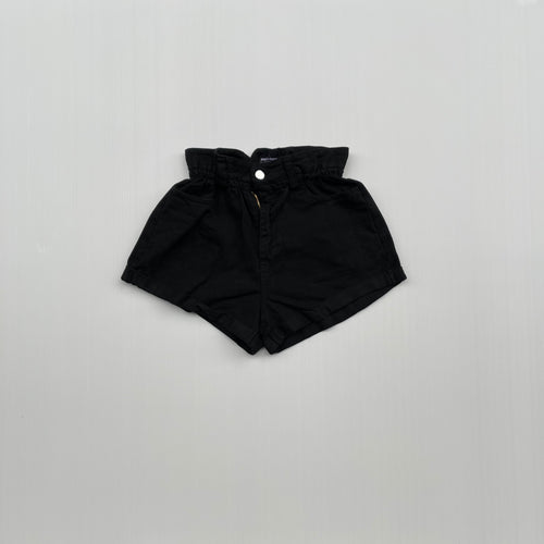 Main Street - Shorts Denim Black Caramella