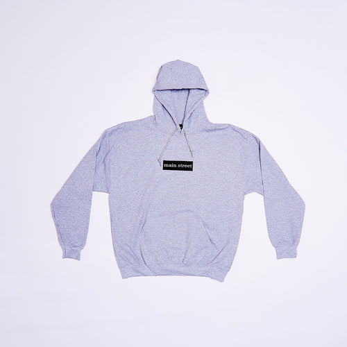 Main Street - Box Logo Grey
