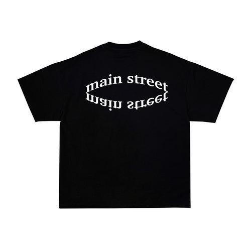 Main Street - Tee Optical Black