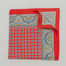 Load image into Gallery viewer, Dotted paisley pocket square