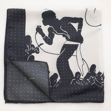 Load image into Gallery viewer, MJ Patterned Pocket Square
